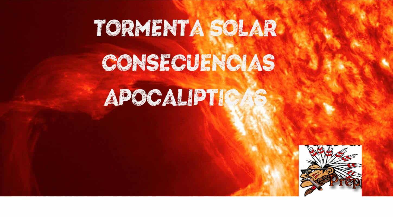 tormenta solar consecuencias