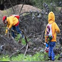 Niños sobre la supervivencia y la preparación